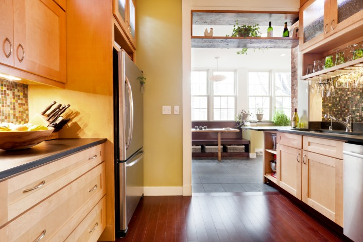 boston brownstone redesign